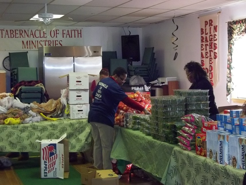 Tabernacle Of Faith Food Distribution